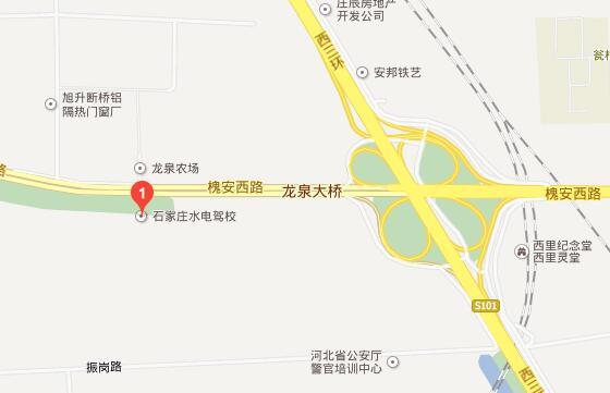 石家庄水电驾校地址